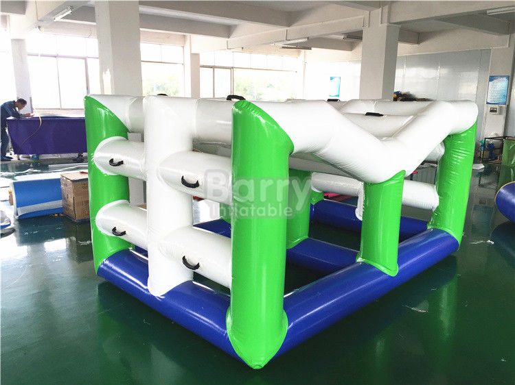 China Barco inflable del juguete que nada, pared que sube flotante grande del agua inflable fábrica