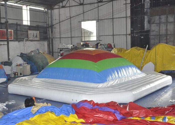 juguetes inflables interiores y al aire libre para el airbag inflable del salto de los nios